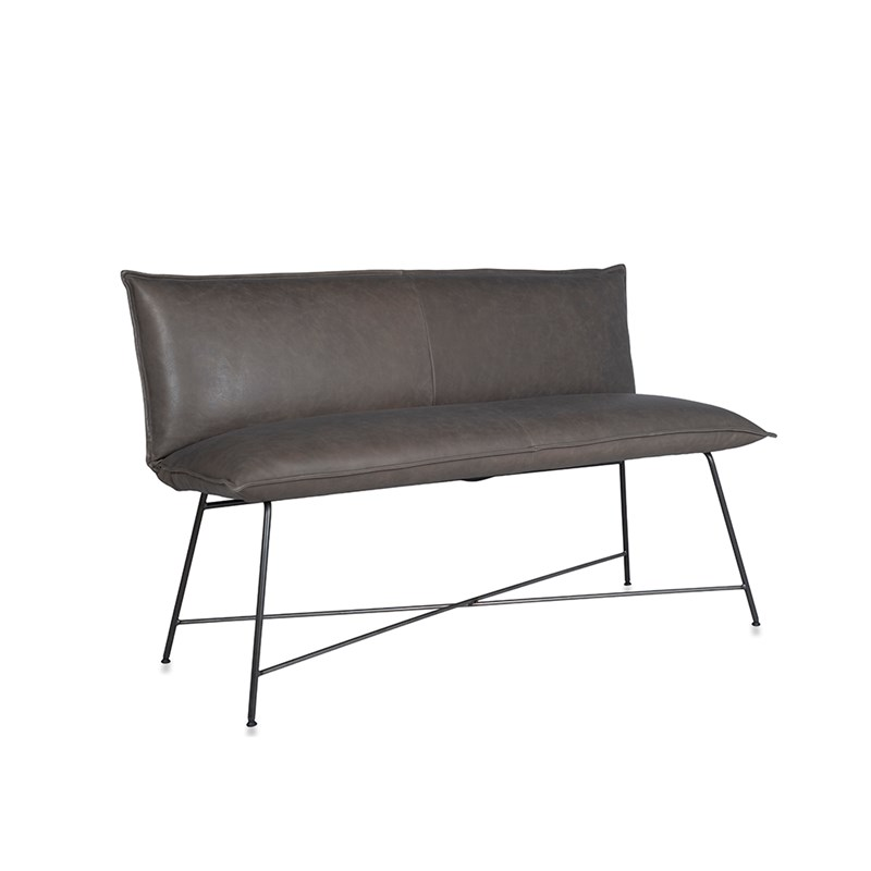 Vidar Diningsofa 2,5 Seats Bar, Frame Old Glory 65 Cm, Bonanza Grey Oblique
