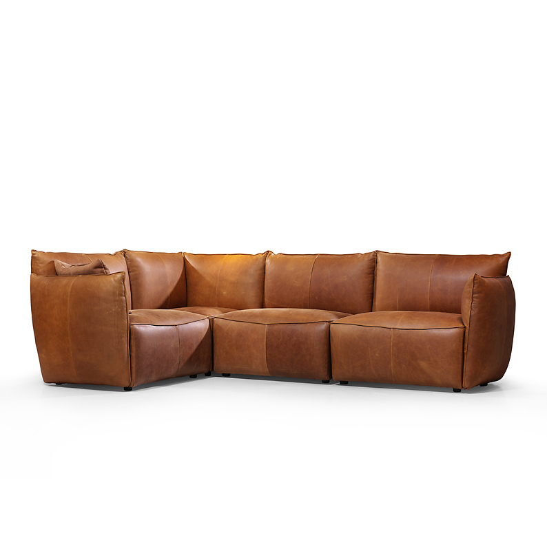 Vasa Element Sofa Bonanza Tan Oblique